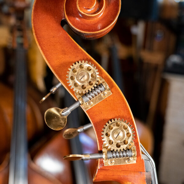 MLS 150B Antiqued Red Double Bass Scroll